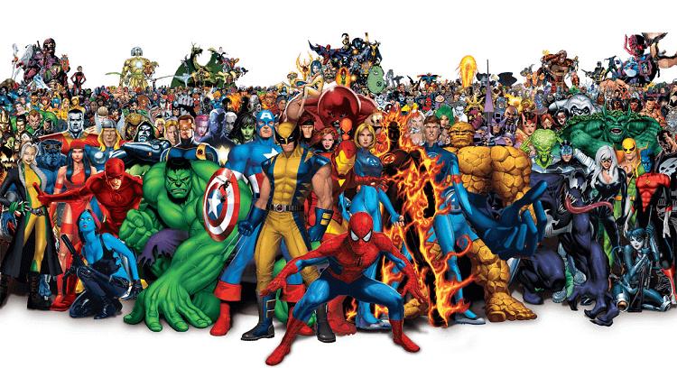 Marvel Evreni ve En Bilinen Kahramanları